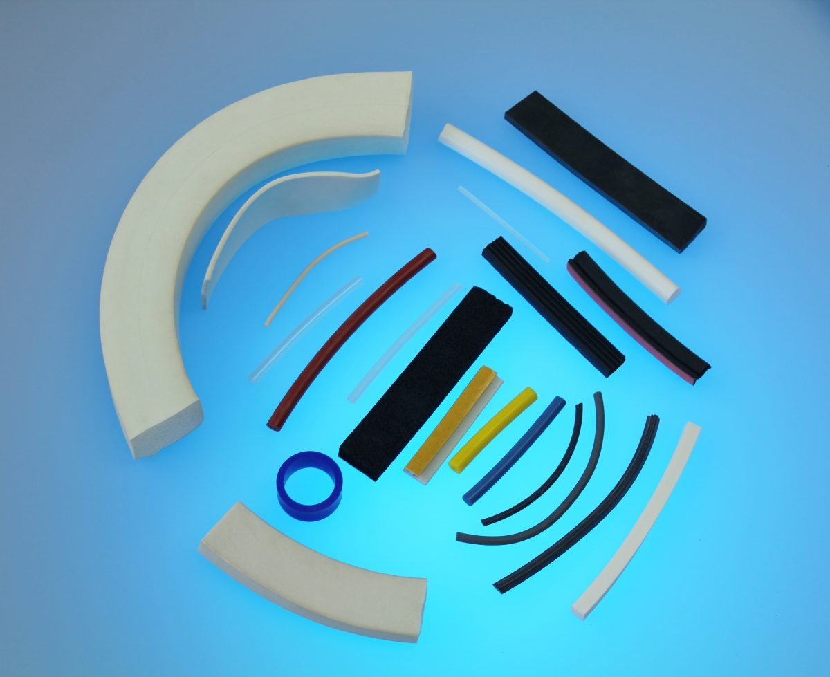 Extrusion Profiles EMI RFI seals gaskets