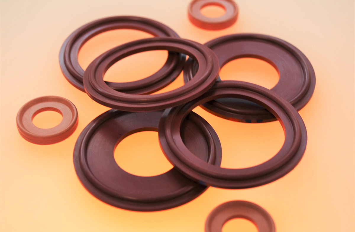 Metal xray detectable seals gaskets